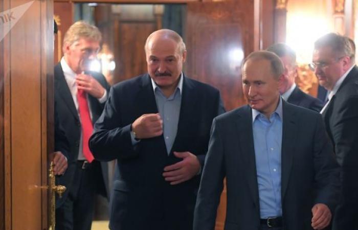 الخارجية البيلاروسية: لقاء مرتقب بين بوتين ولوكاشينكو في الأيام المقبلة