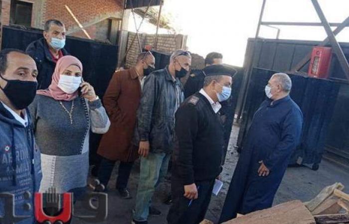 تحرير 33 محضرا لمصانع بالقليوبية لعدم تطبيق الإجراءات الاحترازية