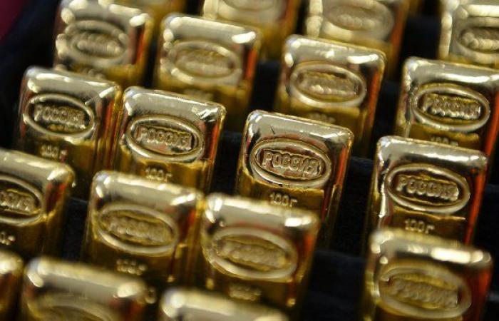 الذهب يتراجع في ظل صعود الدولار