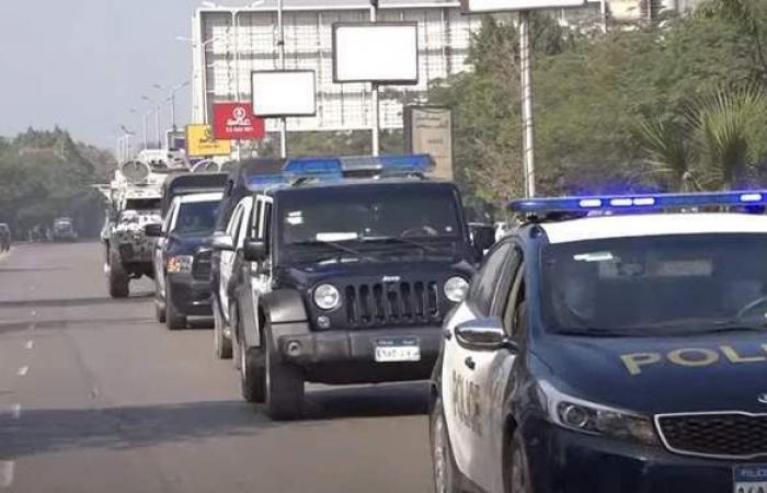 ضبط عصابة سرقة السيارات بطريق إسكندرية الصحراوي