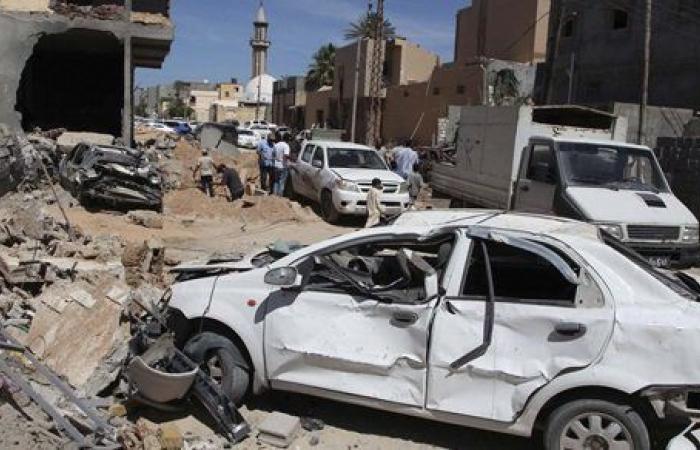 إصابة 9 أشخاص بانقلاب سيارة في سوهاج