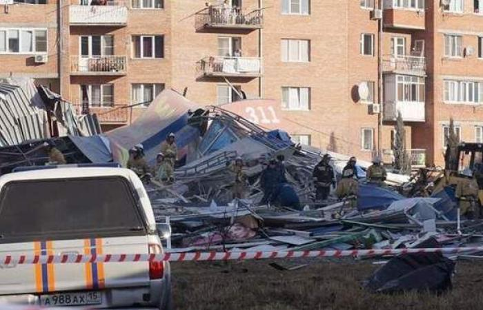موسكو تستبعد وقوع عمل إرهابي في انفجار مركز تجاري بفلاديكافكاز
