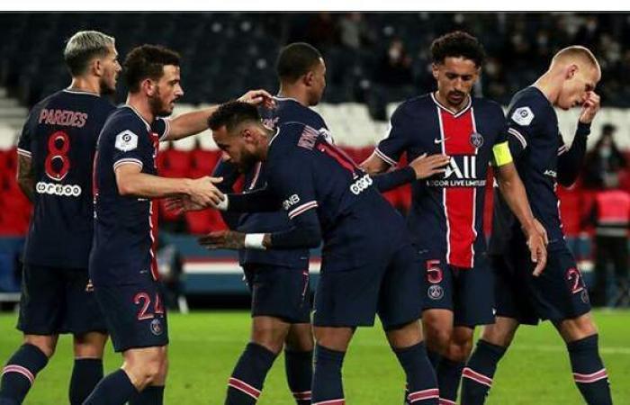 باريس سان جيرمان يحقق فوزا صعبا على نيس قبل لقاء برشلونة