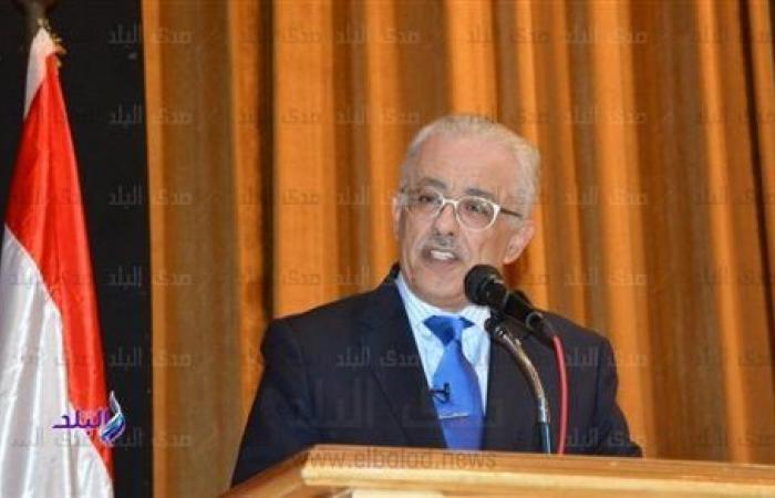 وزير التعليم: حصص ومراجعات مجانية على قناة مدرستنا لاستكمال الدراسة