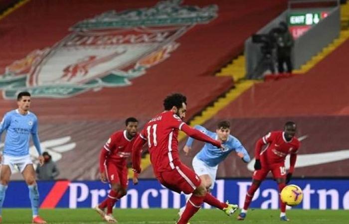 صلاح يزين التشكيل الرسمي لمواجهة ليفربول وليستر سيتي في الدوري الانجليزي