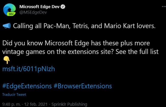 Microsoft Edge يستضيف نسخًا غير مشروعة من الألعاب