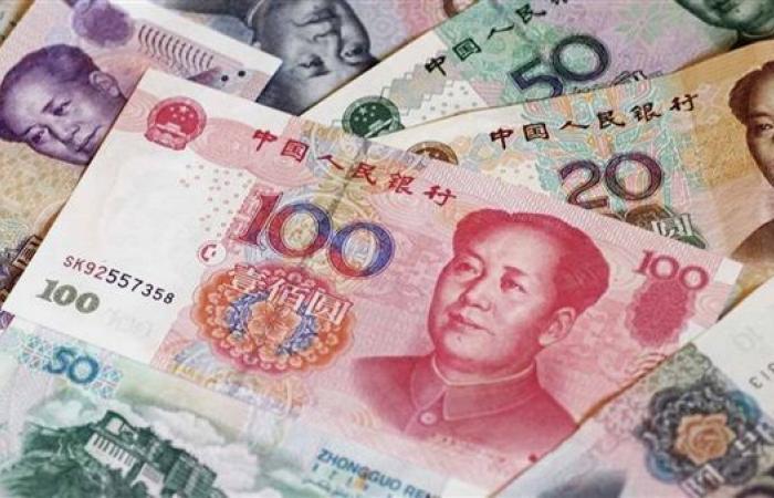 """""""اليوان الصيني"""" يخسر قرشا واحد أمام الجنيه المصري الاسبوع الماضي"""