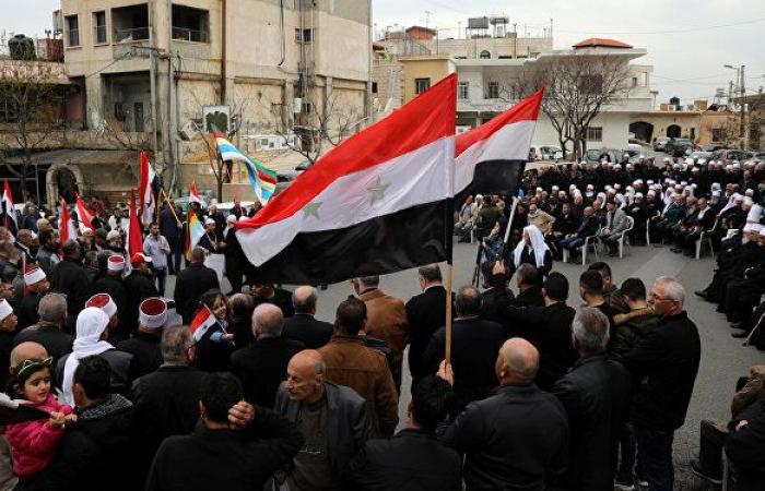 سوريا... دروز مجدل شمس ينظمون مظاهرة ضد الوجود الإسرائيلي في الجولان.. صور