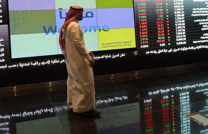 مؤشر سوق الأسهم السعودية يغلق مرتفعًا عند 9035.53 نقطة