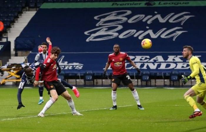 مانشستر يونايتد 0 - 1 وست بروميتش لحظة بلحظة.. مباي دياني يفاجئ سولسكاير بالهدف الأول