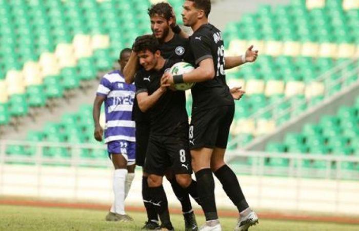 بيراميدز يهزم راسينج كلوب بطل كوت ديفوار 2 - صفر وينتظر التأهل من القاهرة