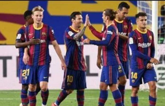 برشلونة يكتسح ألافيس بخماسية في الدوري الإسباني
