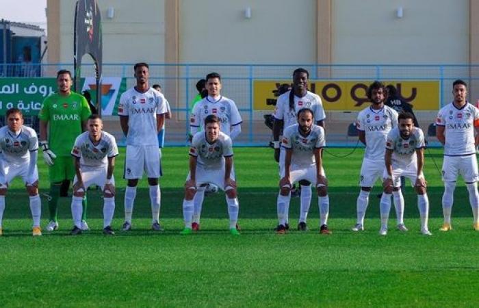 موعد مباراة الهلال وضمك في الدوري السعودي