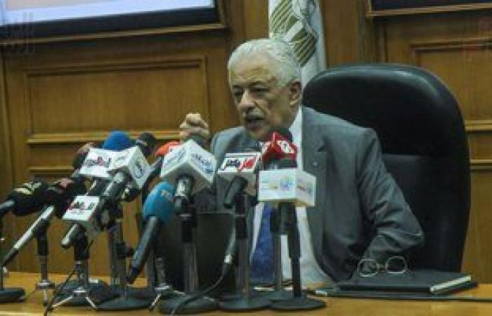 وزير التعليم يعلن ضم امتحانات التيرمين الأول والثانى للشهادتين الإعدادية والثانوية