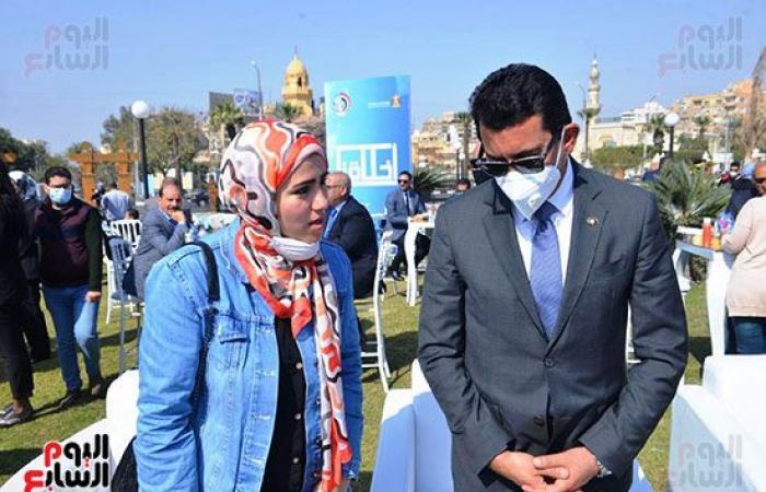 وزير الشباب يطلق مبادرة أخلاقنا بالتعاون مع الشئون المعنوية.. فيديو