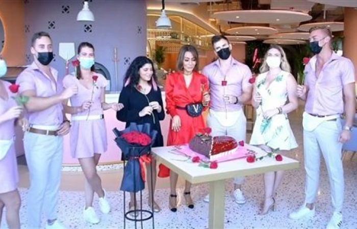 مفيش مستحيل.. شاهد كيف احتفلت بسمة وهبة بعيد ميلاد ابنها من دبي