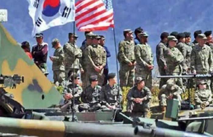 واشنطن وسول تخططان لمناورات عسكرية تستهدف عملا حربيا ضد جيش كوريا الشمالية