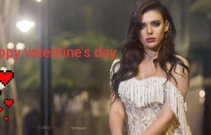هبة السيسي تخطف أنظار متابعيها في عيد الحب