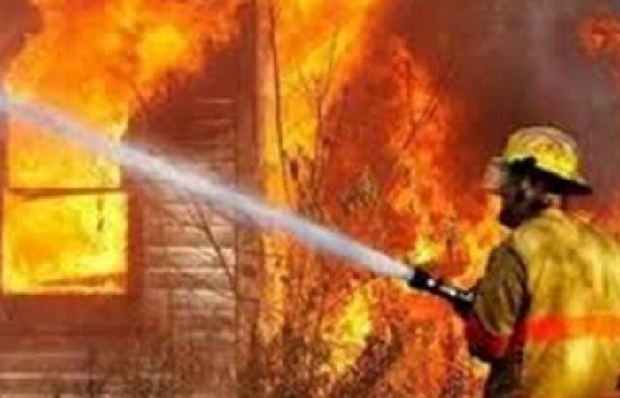 الحماية المدنية تسيطر علي حريق بـ فدان قصب في نجع الحاج سلام بقنا