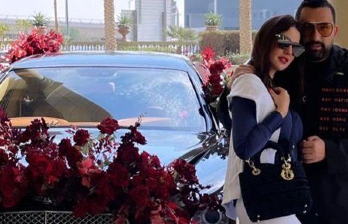 بسيارة هدية.. درة تفاجئ متابعيها بهدية عيد الحب من زوجها