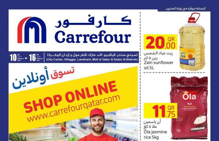 عروض كارفور قطر من 10 فبراير حتى 16 فبراير 2021