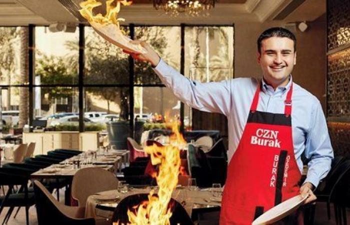 إعادة فتح مطعم الشيف التركي بوراك في دبي