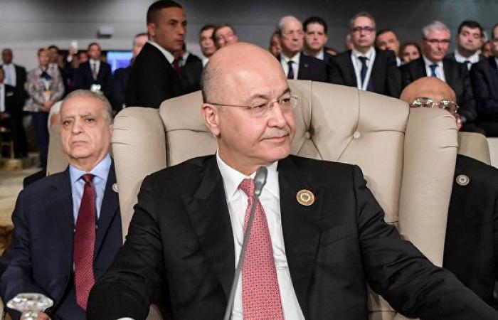 الرئيس العراقي يطالب بترميم الآثار المهددة وتطوير القطاع الثقافي