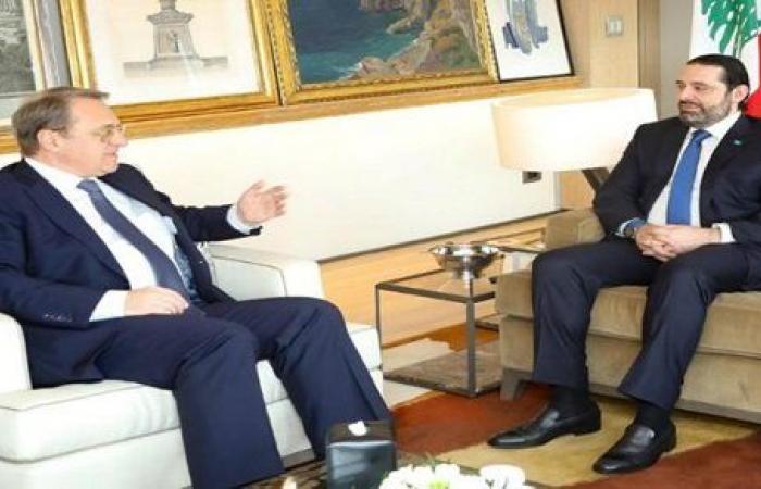 بينهم الحريري.. مبعوث بوتين للشرق الأوسط يجري اتصالات مع سياسيين لبنانيين
