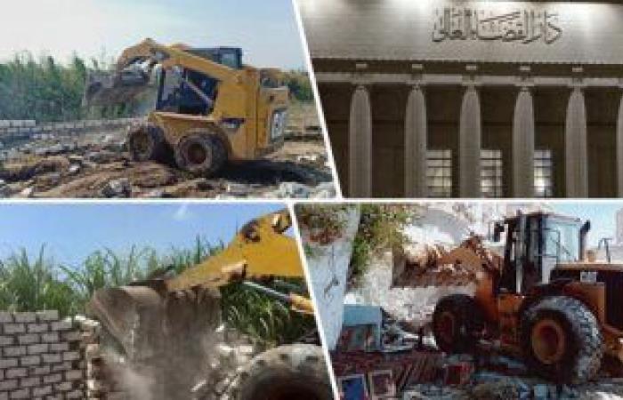 وزارة الرى تعلن إزالة 57 ألفًا و 502 حالة تعدٍ على نهر النيل منذ 2015