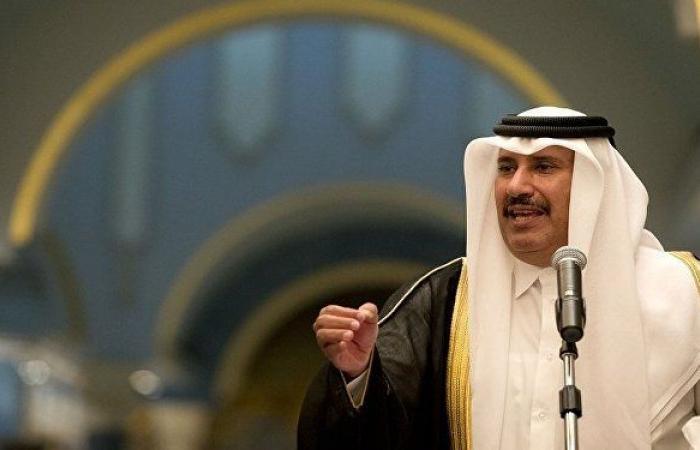"""""""تسعى لتخريب المصالحة الخليجية""""... حمد بن جاسم ينتقد قارعي """"طبول الاستفزاز"""""""