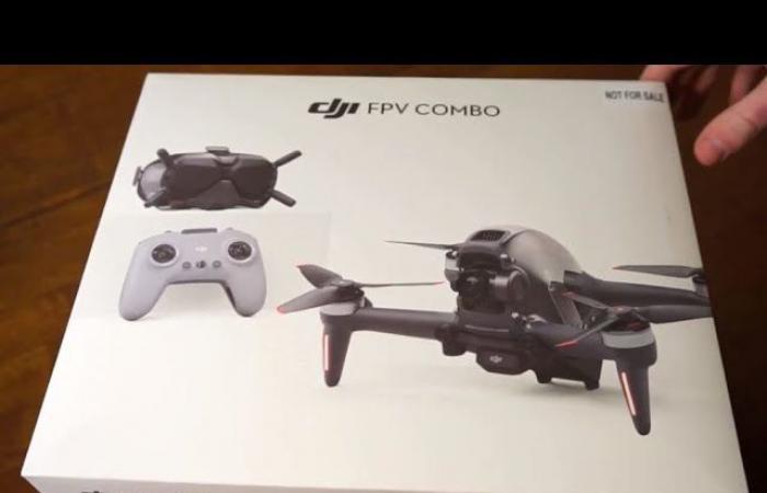 فيديو فتح الصندوق لطائرة DJI FPV قبل الإعلان الرسمي