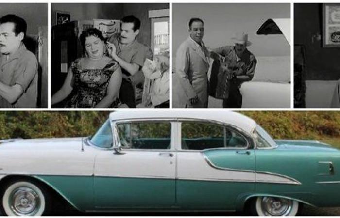 قصة السيارة النادرة التي صاحبت عبدالسلام النابلسي في هذا الفيلم   صور