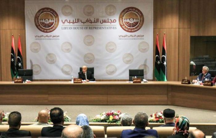 انعقاد الجلسة التشاورية لمجلس النواب الليبي لمنح الثقة للحكومة