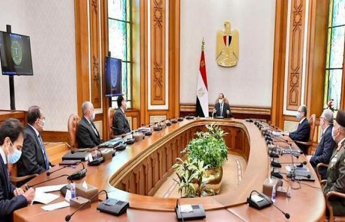 السيسي يتابع المشروع القومي لتنمية وسط وشمال سيناء