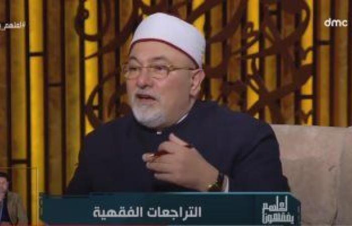 """خالد الجندى:""""أى حد بوشين حرام إلا في الفتوى لازم تكون بـ14 وش"""""""