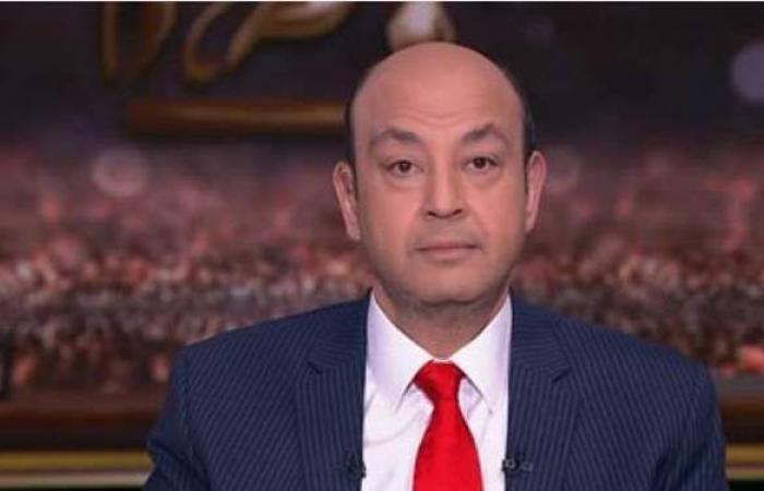 تصالح عمرو أديب مع سائق السيارة المتسبب في الحادث
