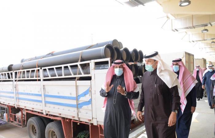وزير النقل يتفقد منفذ «عرعر».. ويعدد أهميته في تعزيز العلاقات مع العراق