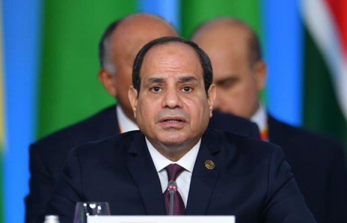 السيسي يستقبل عبد الحميد الدبيبة رئيس الحكومة الليبية الجديدة