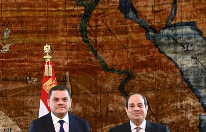 """""""الدبيبة"""": ليبيا حكومة وشعبا تتطلع إلى إقامة شراكة شاملة مع مصر"""