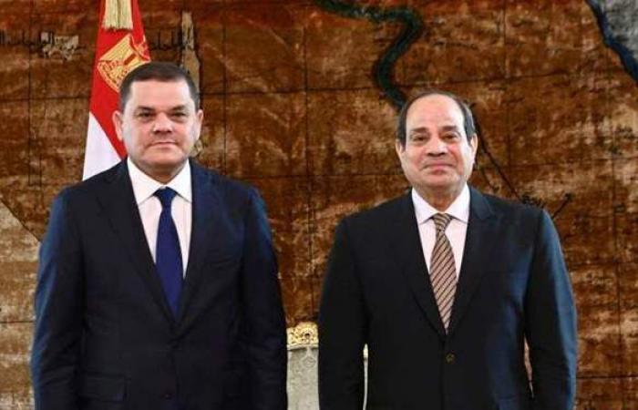 السيسي: ندعم الشعب الليبي لتثبيت دعائم السلم والاستقرار وصون مقدراته