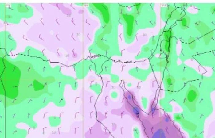 الأقمار الصناعية تشير لطقس معتدل بالعاصمة وأمطار خفيفة بسواحل الشمال والشرق
