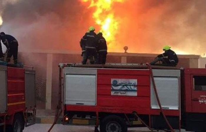 استدعاء أهل 3 أطفال لقوا مصرعهم في حريق شقة بالمرج