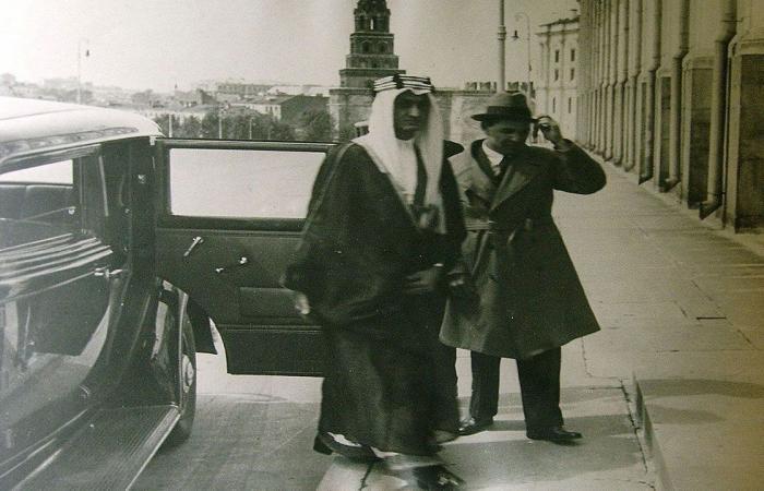 بصور تاريخية.. روسيا تحتفي بمرور 95 عامًا على العلاقات الدبلوماسية مع السعودية