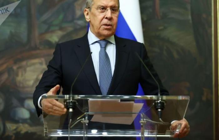 """لافروف: الغرب يعلم أن انتشار لقاح """"سبوتنيك V"""" يرفع مكانة روسيا وهو لا يريد ذلك"""