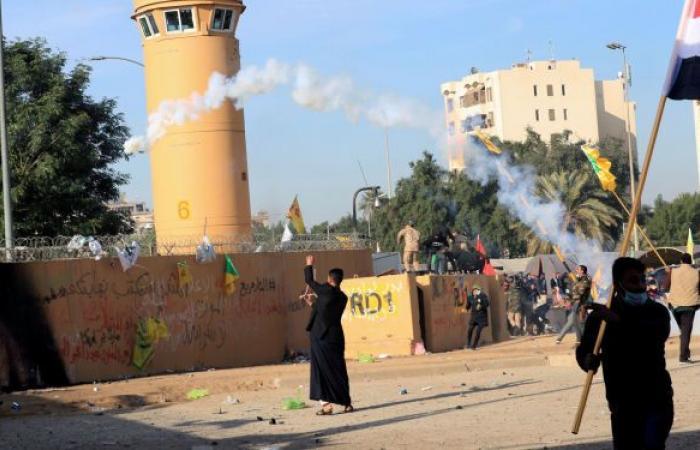 أضرار وحصيلة القصف الصاروخي في بغداد... صور وفيديو