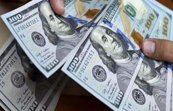 سعر الدولار امام الجنيه المصرى فى نهاية تعاملات اليوم الاثنين 22 فبراير 2021