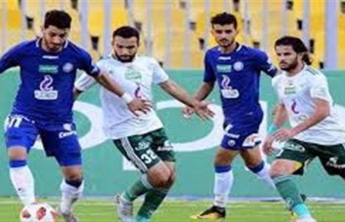 عبد الكبير الوادي يحرز هدف التعادل لسموحة في شباك المصري
