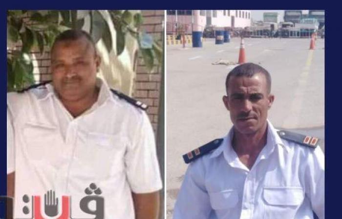 أهالي بني سويف ينعون أميني شرطة توفيا برصاص زميلهم بمرور بني سويف