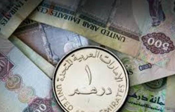 سعر الدرهم الإماراتى أمام الجنيه المصري اليوم الثلاثاء 23-2-2021