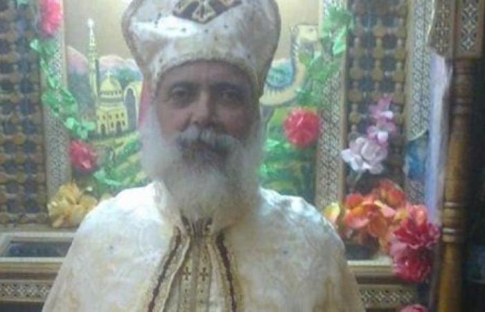 """وفاة القمص متى عبدالله كاهن كنيسة الشهيد مارجرجس بـ""""أم خنان"""""""